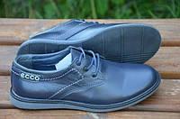 Детские кожаные туфли Ecco подростковые