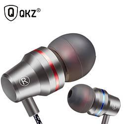 Наушники QKZ DM1, гарнитура с микрофоном.