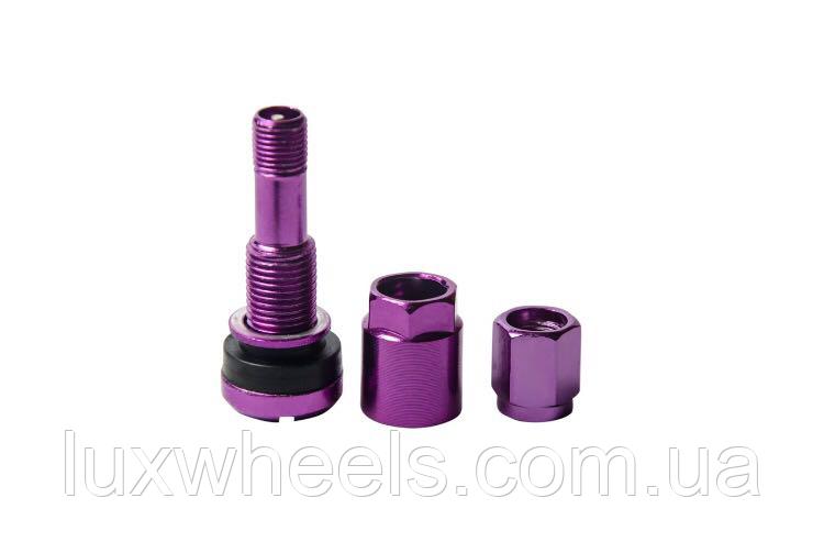Ниппель, вентиль легковой разборный, цвет фиолетовый