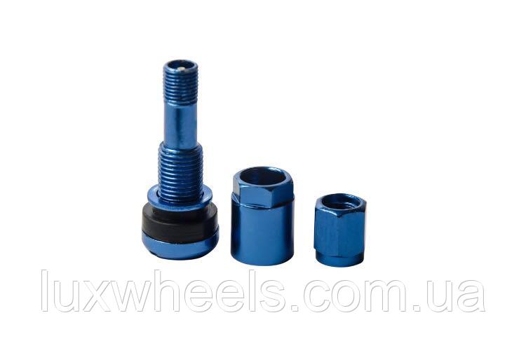 Ниппель, вентиль легковой разборный, цвет синий