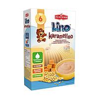 Каша пшеничная молочная Karamelino со вкусом карамели, 200 г 1115304 ТМ: Lino
