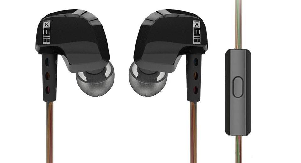 Hi-Fi наушники QKZ DM200 с микрофоном.