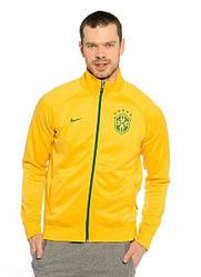 Мужская толстовка Nike желтого цвета