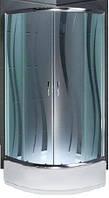 Душова кабіна INVENA Marbella AK-46-194 90x90 з середнім піддоном 28,5см (Польща)