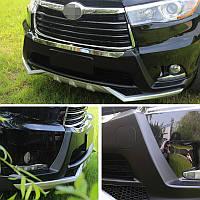 Toyota Highlander 2014-2020 Передняя и задняя накладки