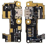 Шлейф для Asus ZenFone 5 (A500KL) с разъемом зарядки и микрофоном Original