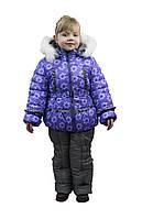 """Куртка и полукомбинезон (комплект) для девочек """"Ромашка"""""""