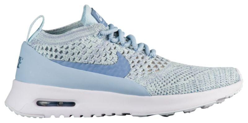 b980084672c7 Кроссовки Кеды (Оригинал) Nike Air Max Thea Ultra Flyknit Light Armory Blue