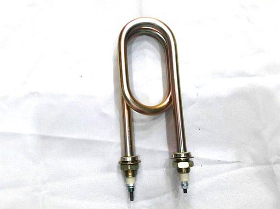ТЭН-скрепка для нагрева воды из оцинковки (3 кВт, Ø18 мм) ФИРМА, фото 2