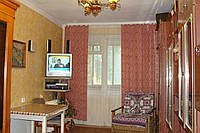 Однокомнатную квартиру с лоджией в Форосе в 70 метрах от моря.