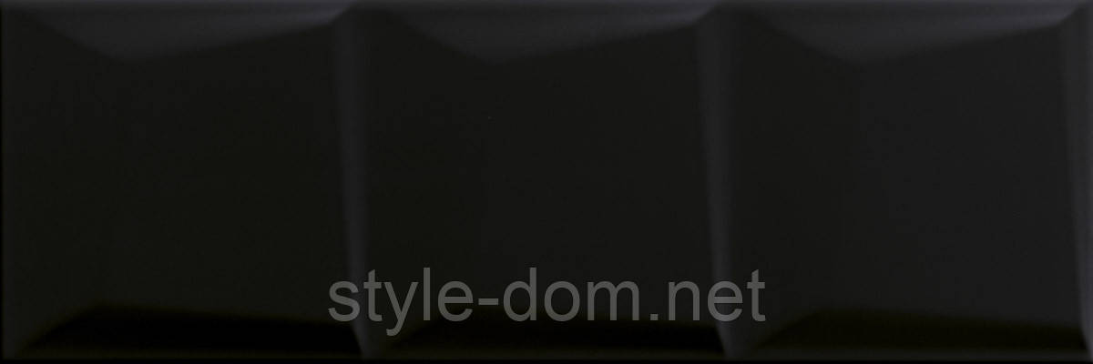 Плитка MALOLI NERO STRUKTURA C СТЕНА 20x60, фото 2