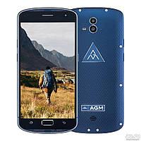 Защищенный смартфон AGM X1 Blue 4/64gb ip68  Qualcomm Snapdragon 617 5400 мАч
