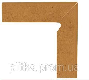Плитка AQUARIUS BROWN COKOL DWUELEMENTOWY SCHODOWY PRAWY 8х30, фото 2