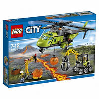 LEGO City 60123 Грузовой вертолёт исследователей вулканов
