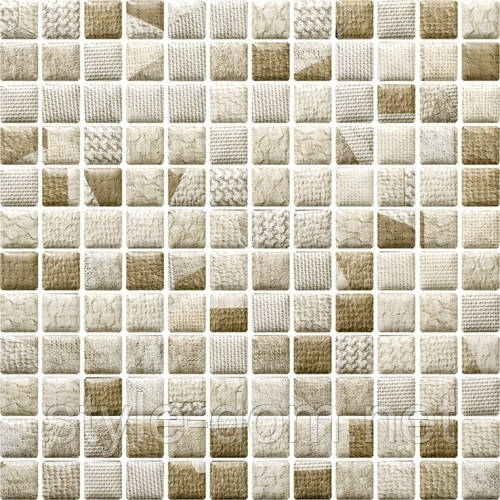 Плитка ATTIYA BEIGE MOZAIKA PRASOWANA MIX МОЗАИКА 29,8х29,8