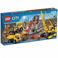 LEGO City 60076 Площадка для сноса зданий