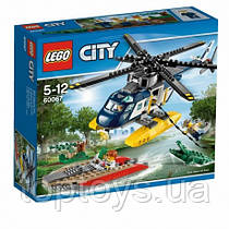 LEGO City 60067 Преследование на вертолете