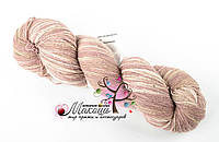 Пряжа Aade Long Kauni Artisric Yarn 8/1  Кауни Арстистик Ярн 8/1, розово-бежевый, цена за 100 грамм