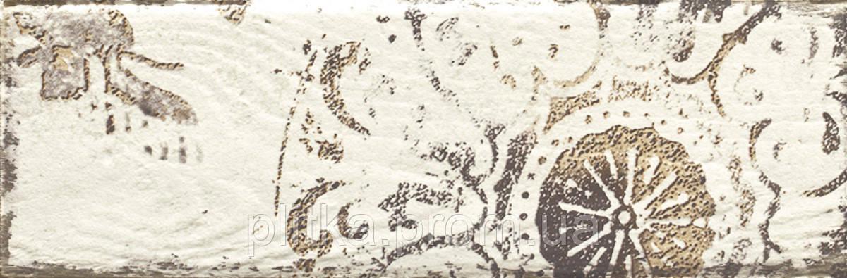 Плитка RONDONI BIANCO C ДЕКОР 9,8х29,8, фото 2