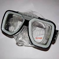 Маска для ныряния Exquis 6310p прозрачный силикон, фото 1