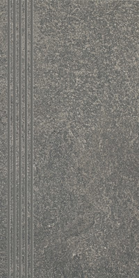 Плитка FLASH GRAFIT POLPOLER СТУПЕНЬ 30х60