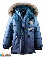 Зимняя удлиненная курточка для мальчика Lenne Polar 17359/2996