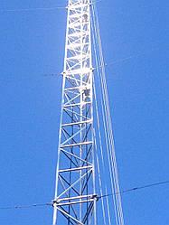 Установка мачт серии М440FL до 36 метров