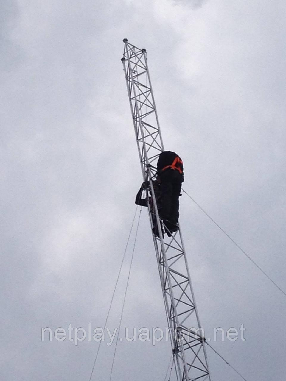 Установка мачт серии М440 до 28 метров