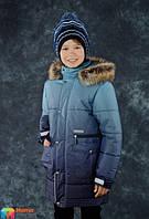 Удлиненная подростковая куртка для мальчика Lenne SHAUN 17369/2999. ПРЕДЗАКАЗ