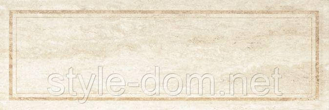 Плитка CASSINIA BEIGE FRAME СТЕНА 25х75