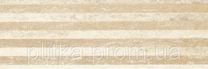 Плитка CASSINIA BEIGE LINES СТЕНА 25х75, фото 2