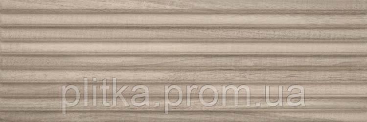 Плитка DAIKIRI WOOD BROWN STRUKTURA PASY 25х75, фото 2