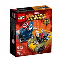 LEGO Super Heroes Marvel Comics 76065 Капитан Америка против Красного Черепа