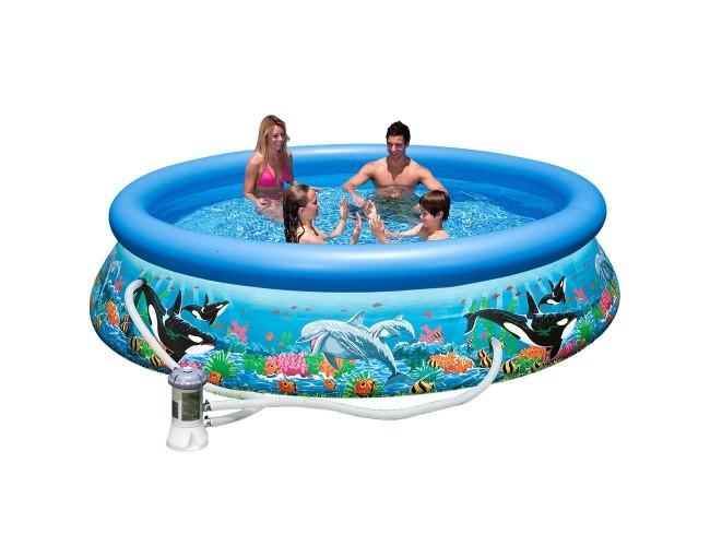 Большой надувной бассейн - Океан (Intex)