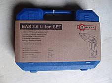 Отвёртка Odwerk BAS 3,6 Li SET, фото 2