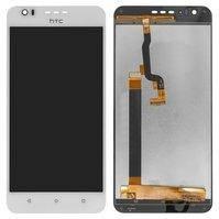 Дисплей для мобильного телефона HTC Desire 10 Lifestyle, белый, с сенсорным экраном