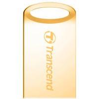 Flash Transcend 510 32Gb gold USB флешка