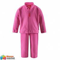 Комплект термобелья флисовый для девочки Reima 516074, цвет 3430