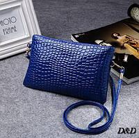 Женская сумка мини синяя, фото 1