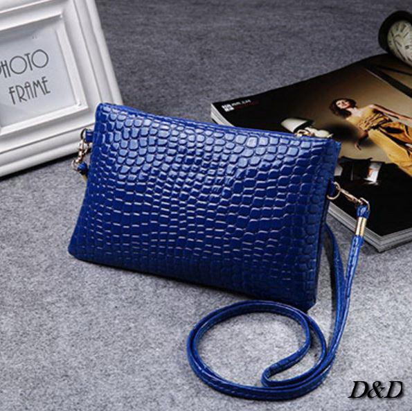 Женская сумка мини синяя