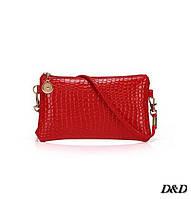 Женская сумка мини красная, фото 1