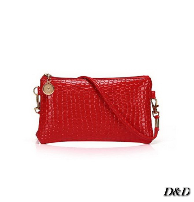 Женская сумка мини красная