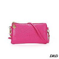 Женская сумка мини розовая, фото 1