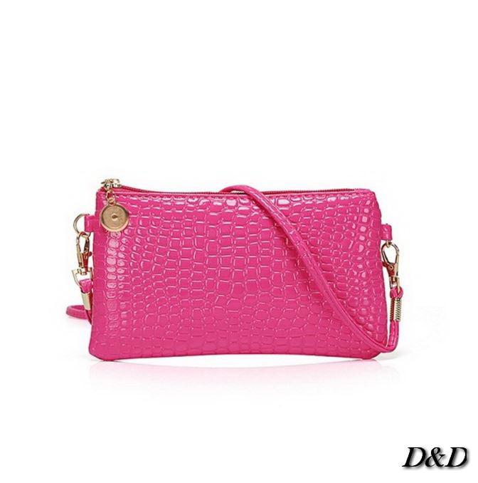 Женская сумка мини розовая