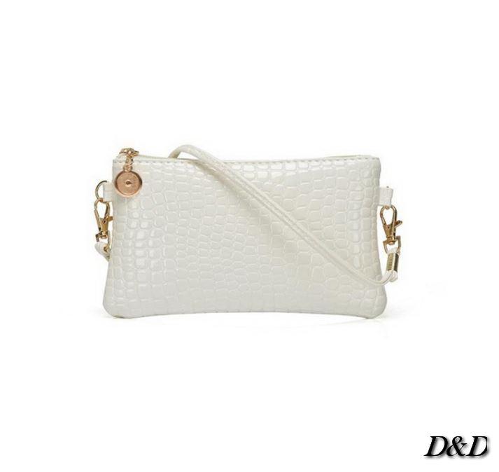 Женская сумка мини белая