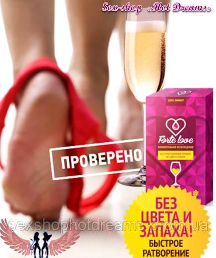 Женский возбудитель Forte Love (Форте Лав) – напиток любви и страсти
