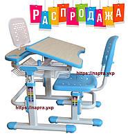 Комплект детская парта, стул, подставка для книг (полка)