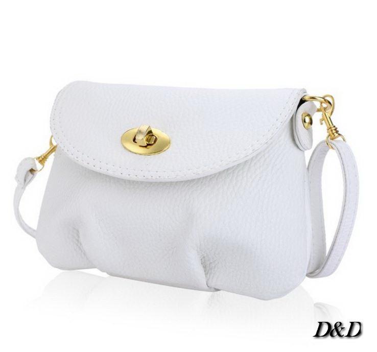 Женская сумка белая