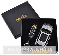 Подарочный набор 2в1 Сувенирная зажигалка + зажигалка-брелок Porsche Cayenne №4426-3