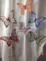 Бабочки на магните 18 см